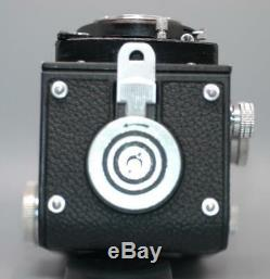 Rolleiflex Rolleicord Vb TLR White Face 75mm f3.5 Xenar lens w case Cla'd Ex++