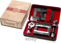 Rolleiflex Rolleikin 2 TLR convertion kit to 35mm film Rolleicord used boxed