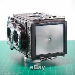 Rolleiflex T Model 2 TLR Carl Zeiss Tessar 75mm f/3.5 Medium Format Film Camera