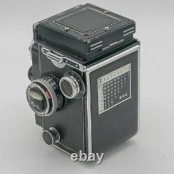 Rolleiflex TLR 2,8E 2,8 E Carl Zeiss Planar 2,8/80mm 6x6 Serviced + Tested