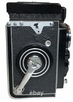 Rolleiflex TLR Camera Zeiss-Opton Tessar 75mm f3.5 Lens Franke & Heidecke NICE