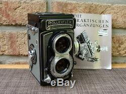 Rolleiflex TLR Mittelfomat Klassiker T1 Tessar 3.5/75mm Sammlerstück TOP