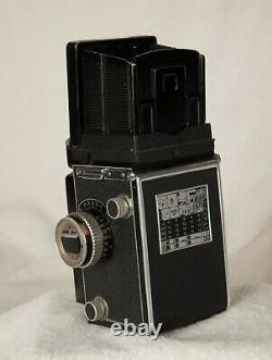 Rolleiflex TLR mit Zeiss Tessar 3.5/75mm. Der analoge Klassiker mit viel Zubehör