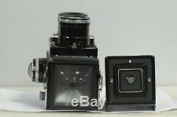 Rolleiflex Tele Type II with Cap and Meter TLR Film Camera