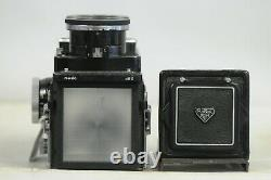 Rolleiflex Wide with Cap & New Strap TLR Film Camera