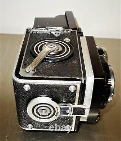 Rolleiflex f2.8 Schneider Xenotar 80mm Film Camera with Case