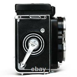 SERVICED Rolleiflex 2,8 D Model K7D Camera TLR Xenotar 80mm Compur Rapid MXV
