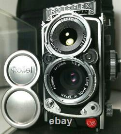 SHARAN ROLLEIFLEX Rollei 2.8F f5.6 &Cap Almost Unused in Case /GOD LEVEL MINT