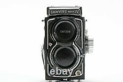 Sawyers Mark IV 127 film 4x4 TLR camera (c. 1959) A Miniature Rolleiflex 2.8