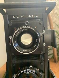 Super rare Gowlandflex 4x5 TLR