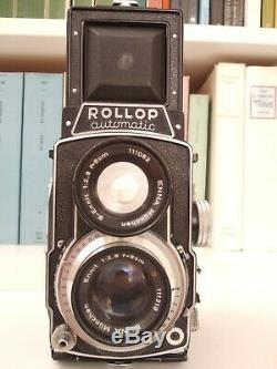 TESTED! Lipca Rollop Automatic 6x6 TLR with Enna Werk Ennit 80mm 12.8 lens