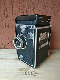 TESTED! Rolleiflex 3.5 with Tessar 75mm 13.5 and leather case