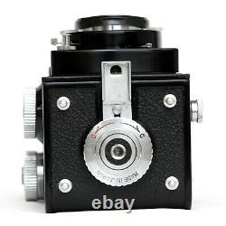 TESTED Yashica D TLR Camera Japan Yashikor 3.5/80 Rolleiflex with Strap 124G 635
