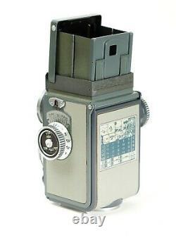 TLR Rolleiflex Grey Baby 4x4 Schnieder Xenar 3.5/60mm Boxed with Case No. 2002997