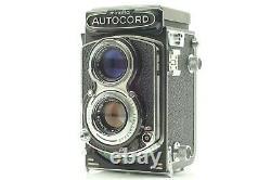 TOP MINT Minolta AUTOCORD III Rokkor 75mm f3.5 TLR Film Camera From JAPAN #885