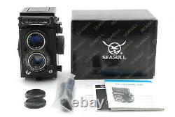 UNUSED IN BOX SEAGULL 4A-105 TLR 6X6 Medium Format Camera 75mm Lens From JAPAN