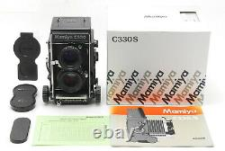UNUSED Mamiya C330 Pro S TLR 6x6 Film Camera with Sekor S 80mm F/2.8 From JAPAN