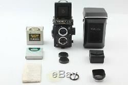 UNUSED with CASE Yashica Mat-124G 6x6 TLR Medium Format Camera + Hood From JAPAN