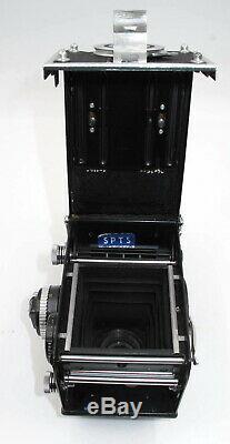 VINTAGE ROLLEIFLEX 3.5F TWIN LENS, With ZEISS 75MM PLANAR & PENTA PRISM FINDER