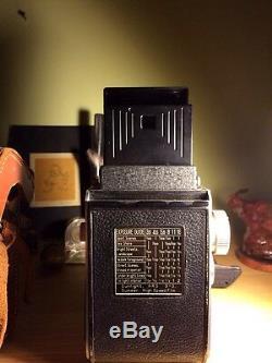 Vintage Mamiyaflex Tlr Camera With 80mm F2.8 Lens