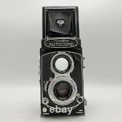 Vintage Minolta Autocord TLR MX Medium Format Camera Chiyoko 75mm F3.5 Lens
