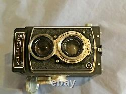 Vintage ROLLEICORD Twin Lens TLR 120 Film Camera In Original Box with Books