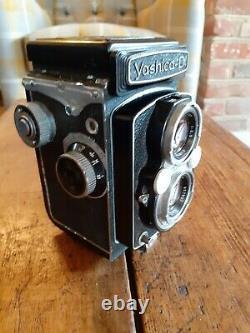 Vintage Yashica D Medium Format Film TLR Camera