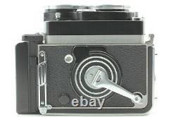 White face XenotarTOP MINTRolleiflex 2.8F Film camera 80mm f/2.8 JAPAN #674