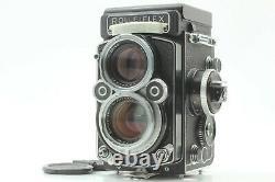 White face XenotarTOP MINTRolleiflex 2.8F Film camera 80mm f/2.8 from JAPAN