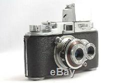 @ World's Only 35mm Horizontal TLR! @ 1955 Tougodo Toyoca Flex 35 Film Camera