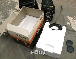 YASHICA MAT 124 G 6x6 TLR Medium Format Camera with Box