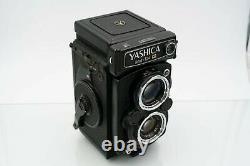 YASHICA MAT 124G twin lens reflex camera vintage TLR 124 g 6x6 80mm f3.5 lens
