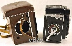 YASHICA-MAT LM TLR withYASHINON 80mm F3.5 LENS & CASE JAPAN
