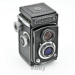 Yashica A 120 6x6 TLR Twin Lens Reflex Film Camera MINT IN BOX