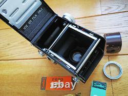 Yashica D TLR 6x6 medium format 120 film camera