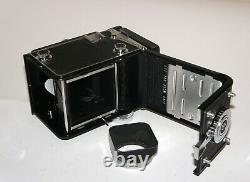 Yashica-D TLR Lens Medium Format Camera Yashikor 80 mm 3.5 WORKS EXCELLENT