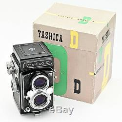 Yashica D Twin Lens TLR 120 6x6 Film Camera. MINT IN BOX