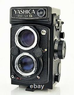 Yashica Mat 124G 6x6 TLR Film Camera With Yashinon 80mm F3.5