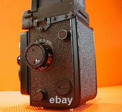 Yashica Mat 124G 6x6 TLR Film Camera With Yashinon 80mm F3.5 + case Mint from UK