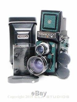 Yashica Mat 124G Camera Full CLA Service by Yashica Tech with6 Mo. Warranty-EG MINT