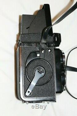 Yashica Mat 124G TLR 6x6 Camera Excellent Condition Box, Strap & Case Included