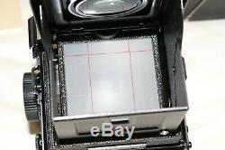 Yashica Mat 124G TLR 6x6 Camera MINT Condition Box, Case & Cap Included