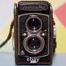 Yashica Mat 6x6 TLR Medium Format Film Camera CLAD Working Order! Lomo Retro