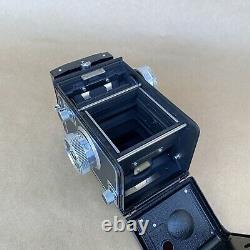 Zeiss Ikon Ikoflex TLR Vintage Medium Format Film Camera With 75mm 3.5 Lens NICE